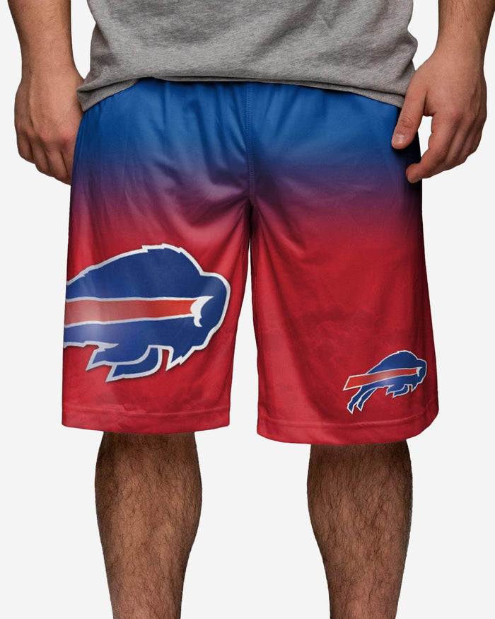 Buffalo Bills Gradient Big Logo Training Short FOCO - FOCO.com
