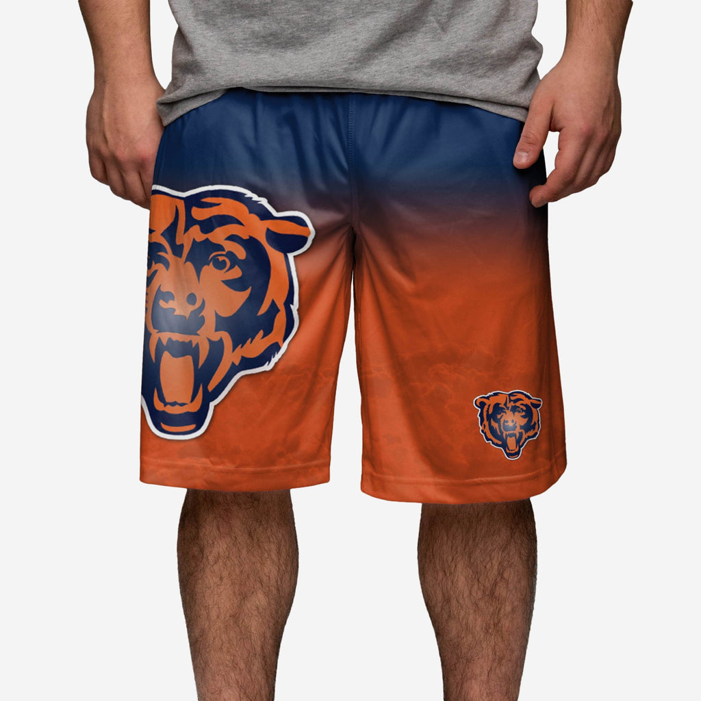 Chicago Bears Gradient Big Logo Training Short FOCO - FOCO.com