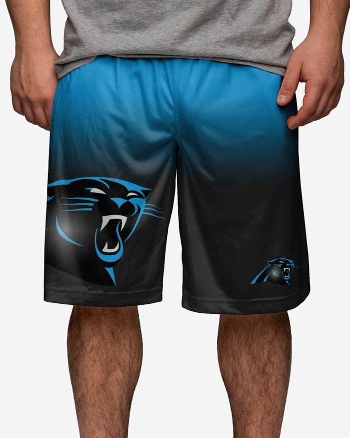 Carolina Panthers Gradient Big Logo Training Short FOCO - FOCO.com