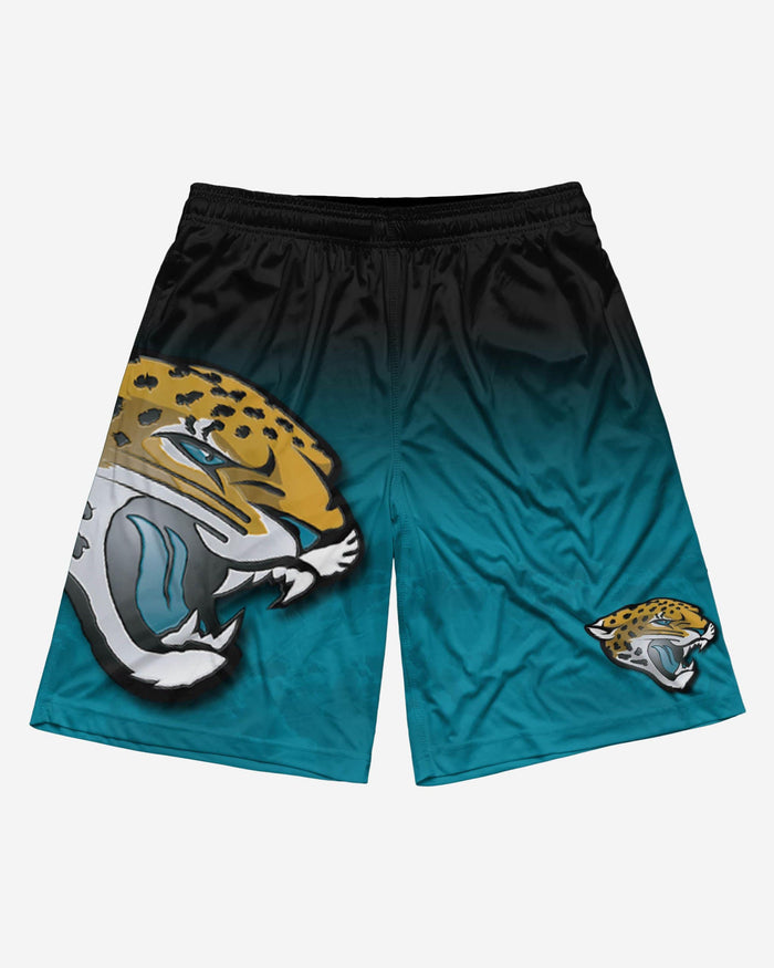 Jacksonville Jaguars Gradient Big Logo Training Short FOCO - FOCO.com