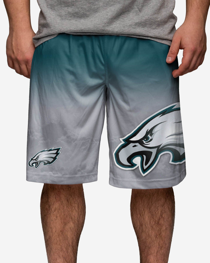 Philadelphia Eagles Gradient Big Logo Training Short FOCO - FOCO.com