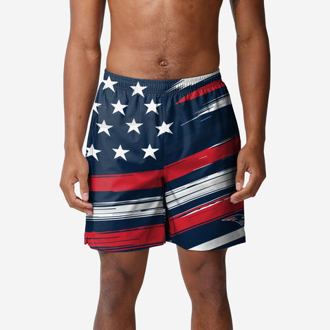 New England Patriots Americana Swimming Trunks
