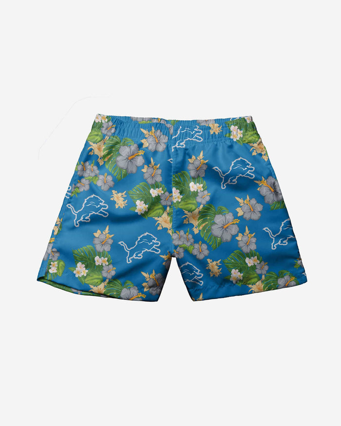 Detroit Lions Toddler Floral Swimming Trunks FOCO - FOCO.com