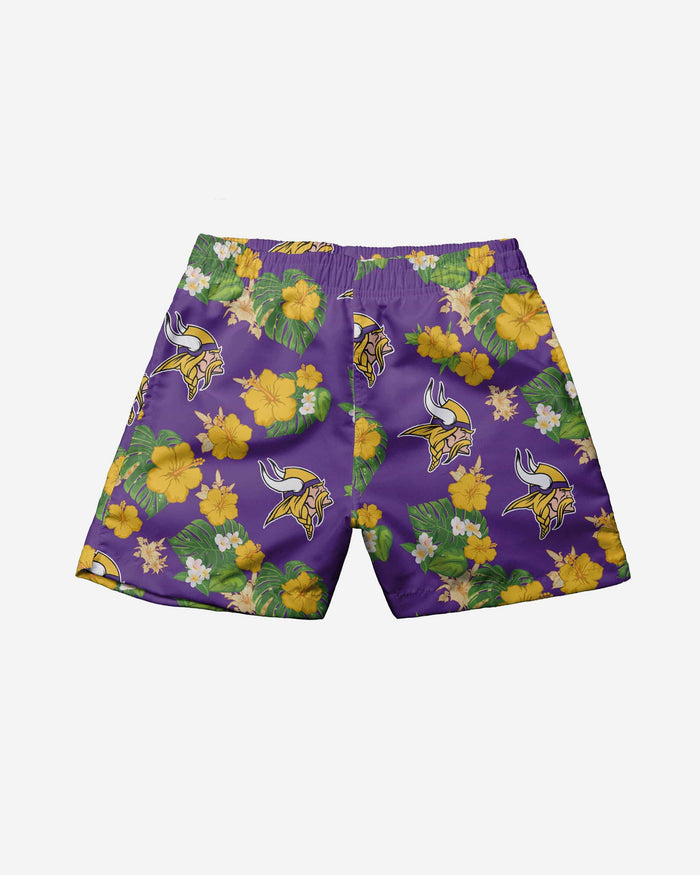 Minnesota Vikings Toddler Floral Swimming Trunks FOCO - FOCO.com