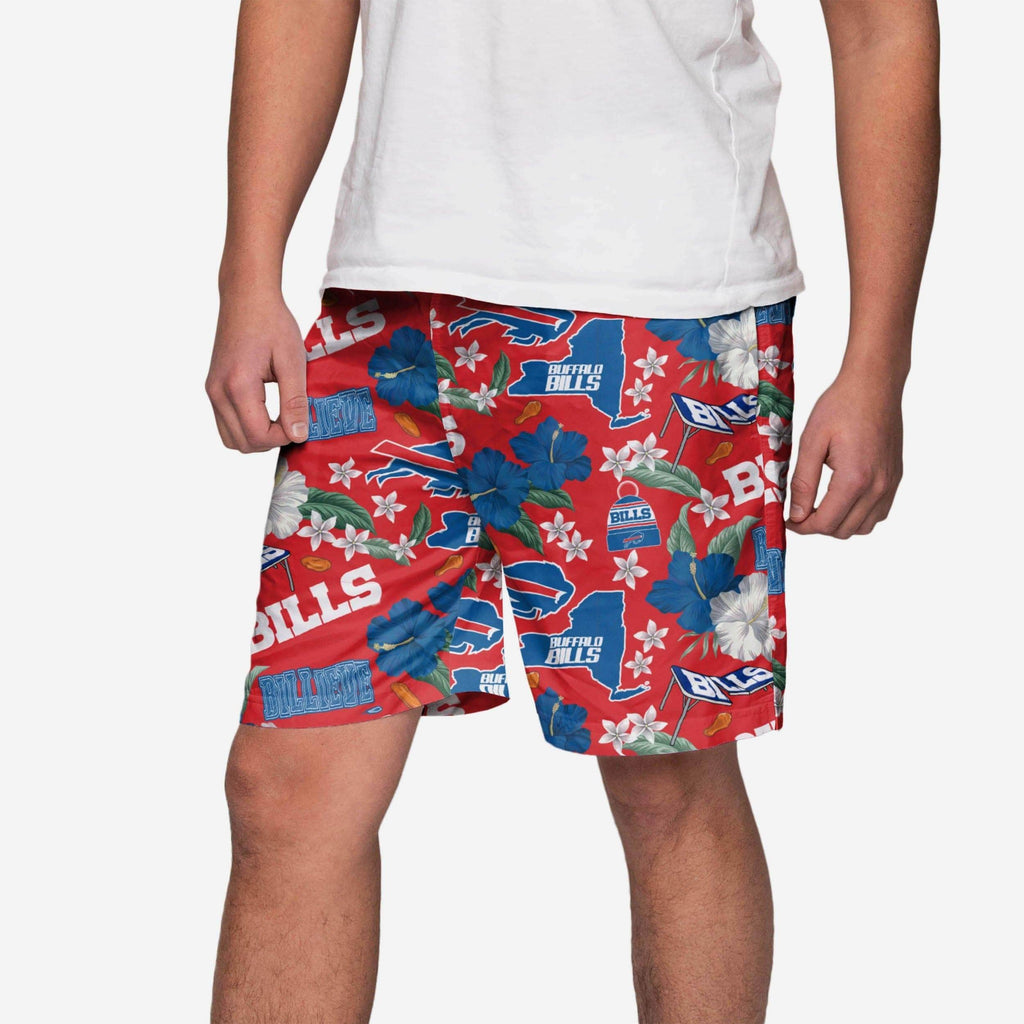 Buffalo Bills City Style Swimming Trunks FOCO S - FOCO.com