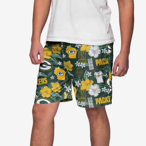 Green Bay Packers City Style Swimming Trunks
