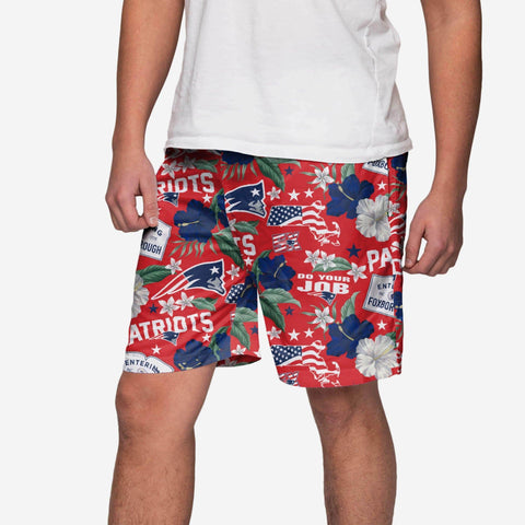 New England Patriots City Style Swimming Trunks