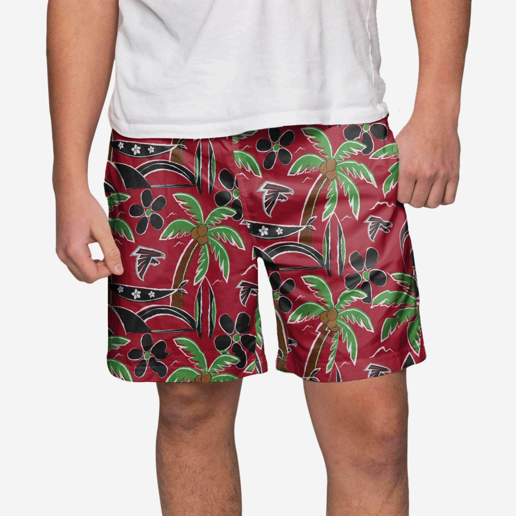 Atlanta Falcons Tropical Swimming Trunks FOCO - FOCO.com
