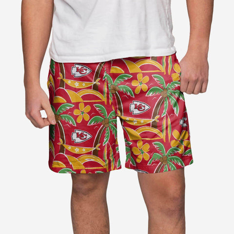Kansas City Chiefs Tropical Swimming Trunks
