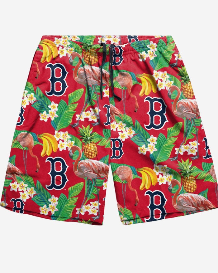Boston Red Sox Floral Shorts FOCO - FOCO.com