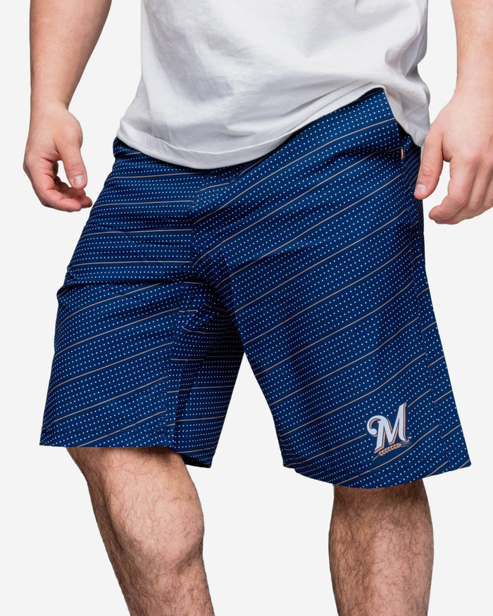 Milwaukee Brewers Dots Walking Short FOCO - FOCO.com