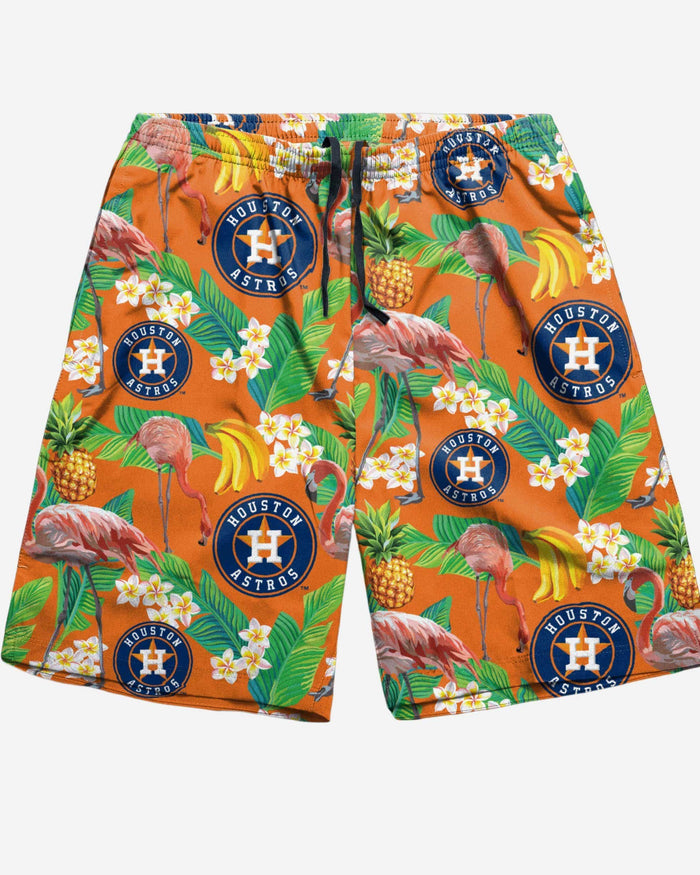 Houston Astros Floral Shorts FOCO - FOCO.com