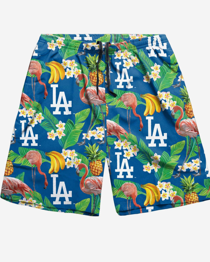 Los Angeles Dodgers Floral Shorts FOCO - FOCO.com