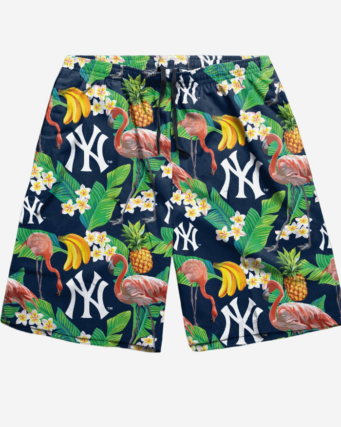 New York Yankees Floral Shorts FOCO - FOCO.com