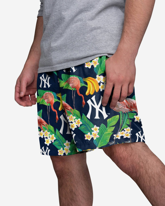 New York Yankees Floral Shorts FOCO S - FOCO.com