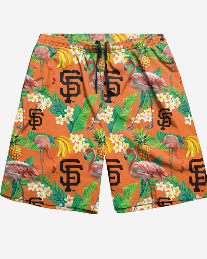 San Francisco Giants Floral Shorts FOCO - FOCO.com