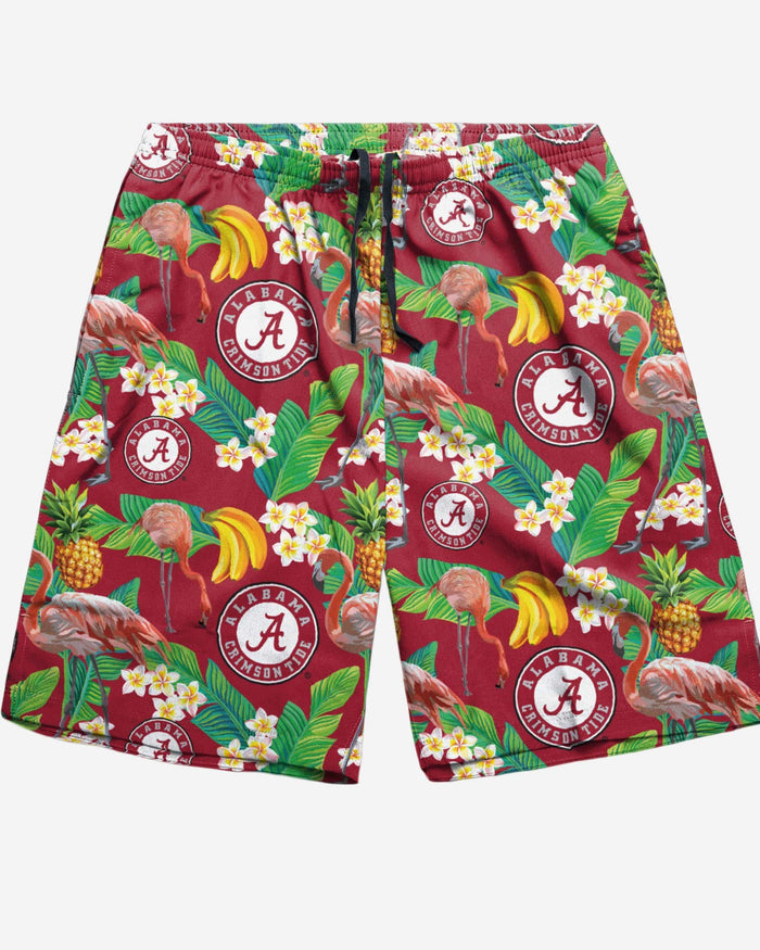 Alabama Crimson Tide Floral Shorts FOCO - FOCO.com