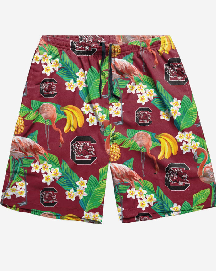 South Carolina Gamecocks Floral Shorts FOCO - FOCO.com
