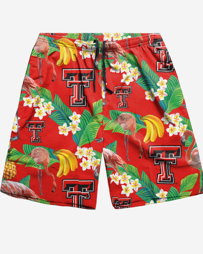 Texas Tech Red Raiders Floral Shorts FOCO - FOCO.com