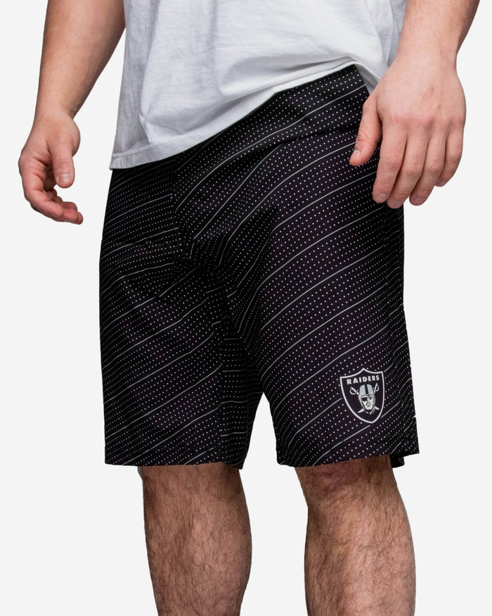 Oakland Raiders Dots Walking Short FOCO - FOCO.com
