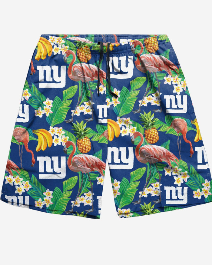 New York Giants Floral Shorts FOCO - FOCO.com