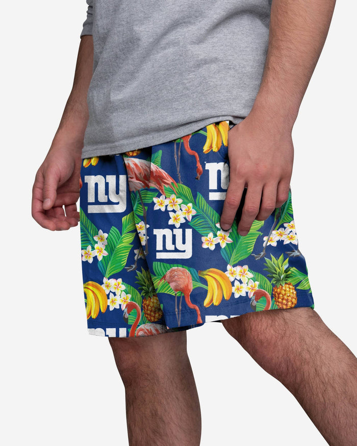 New York Giants Floral Shorts FOCO S - FOCO.com