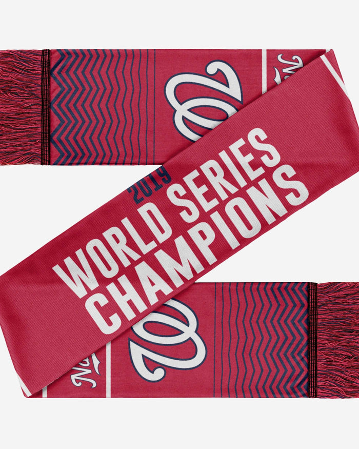 Washington Nationals 2019 World Series Champions Scarf FOCO - FOCO.com