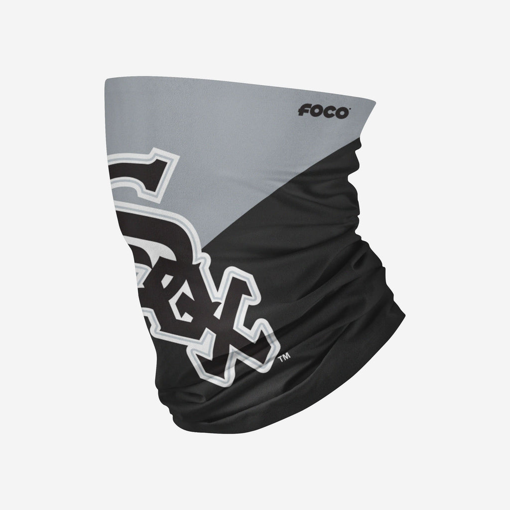 Chicago White Sox Big Logo Gaiter Scarf FOCO Adult - FOCO.com