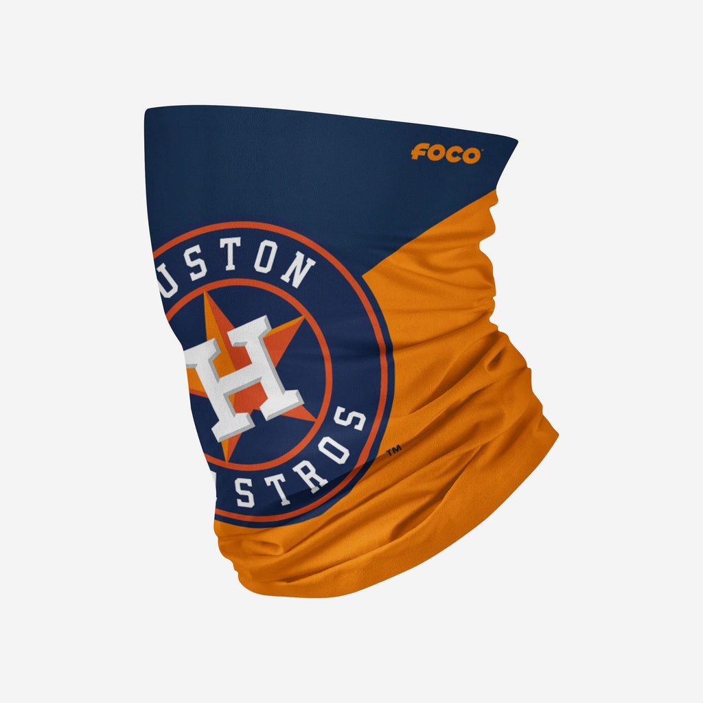 Houston Astros Big Logo Gaiter Scarf FOCO Adult - FOCO.com
