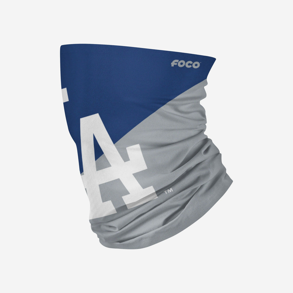Los Angeles Dodgers Big Logo Gaiter Scarf FOCO Adult - FOCO.com