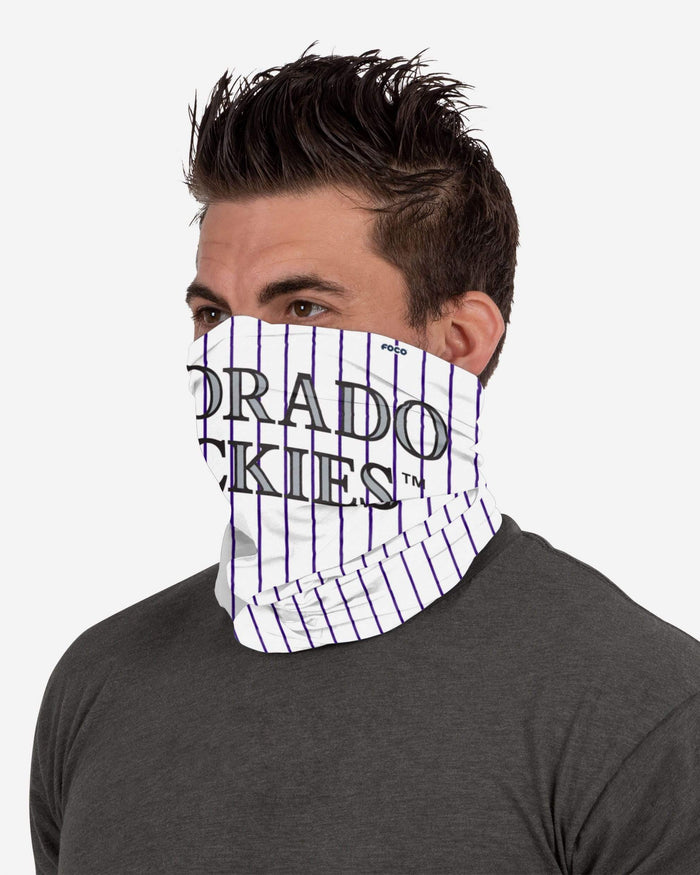 Colorado Rockies Gameday Ready Gaiter Scarf FOCO - FOCO.com