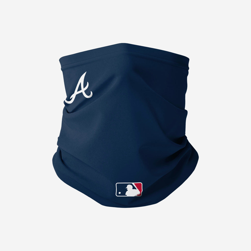 Atlanta Braves On-Field Gameday Gaiter Scarf FOCO - FOCO.com