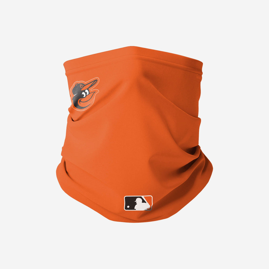 Baltimore Orioles On-Field Gameday Gaiter Scarf FOCO - FOCO.com