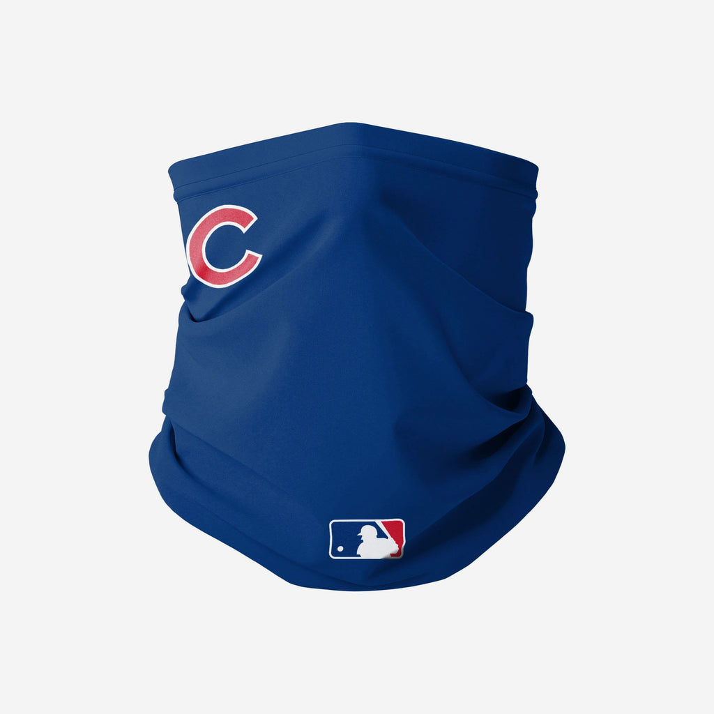 Chicago Cubs On-Field Gameday Gaiter Scarf FOCO - FOCO.com