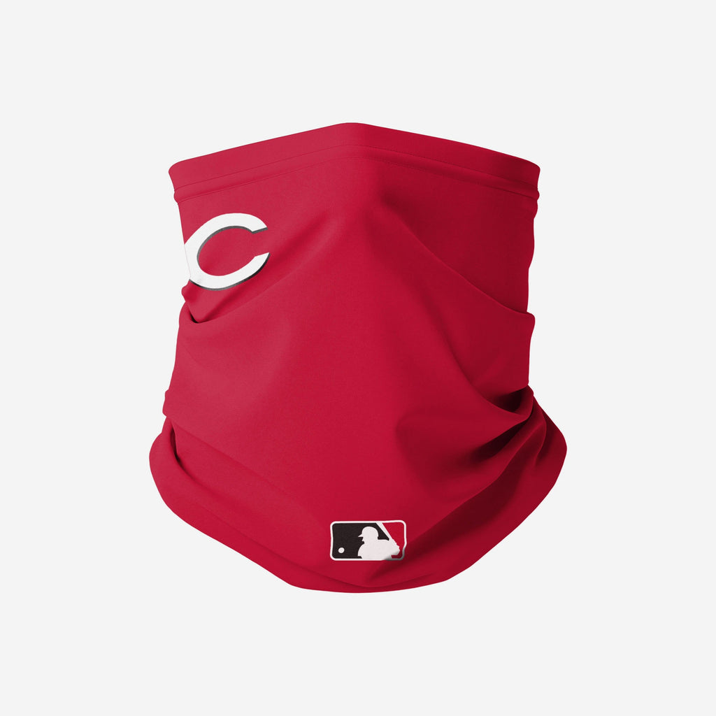 Cincinnati Reds On-Field Gameday Gaiter Scarf FOCO Adult - FOCO.com