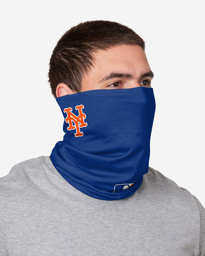 New York Mets On-Field Gameday Gaiter Scarf FOCO - FOCO.com