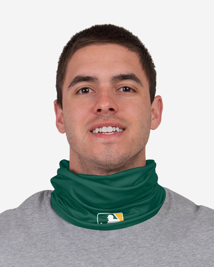 Oakland Athletics On-Field Gameday Gaiter Scarf FOCO - FOCO.com