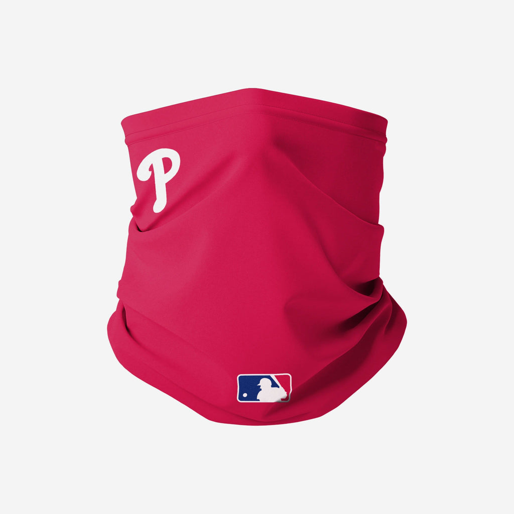 Philadelphia Phillies On-Field Gameday Gaiter Scarf FOCO - FOCO.com