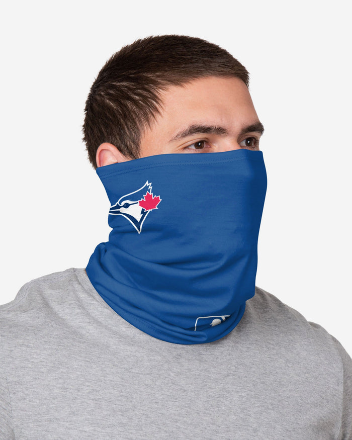 Toronto Blue Jays On-Field Gameday Gaiter Scarf FOCO - FOCO.com