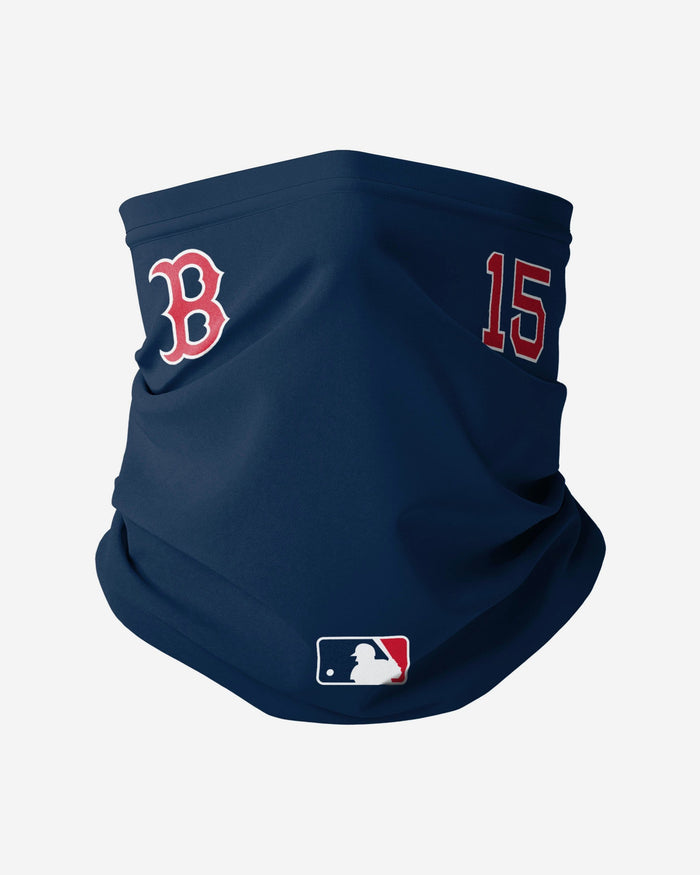 Dustin Pedroia Boston Red Sox On-Field Gameday Gaiter Scarf FOCO - FOCO.com