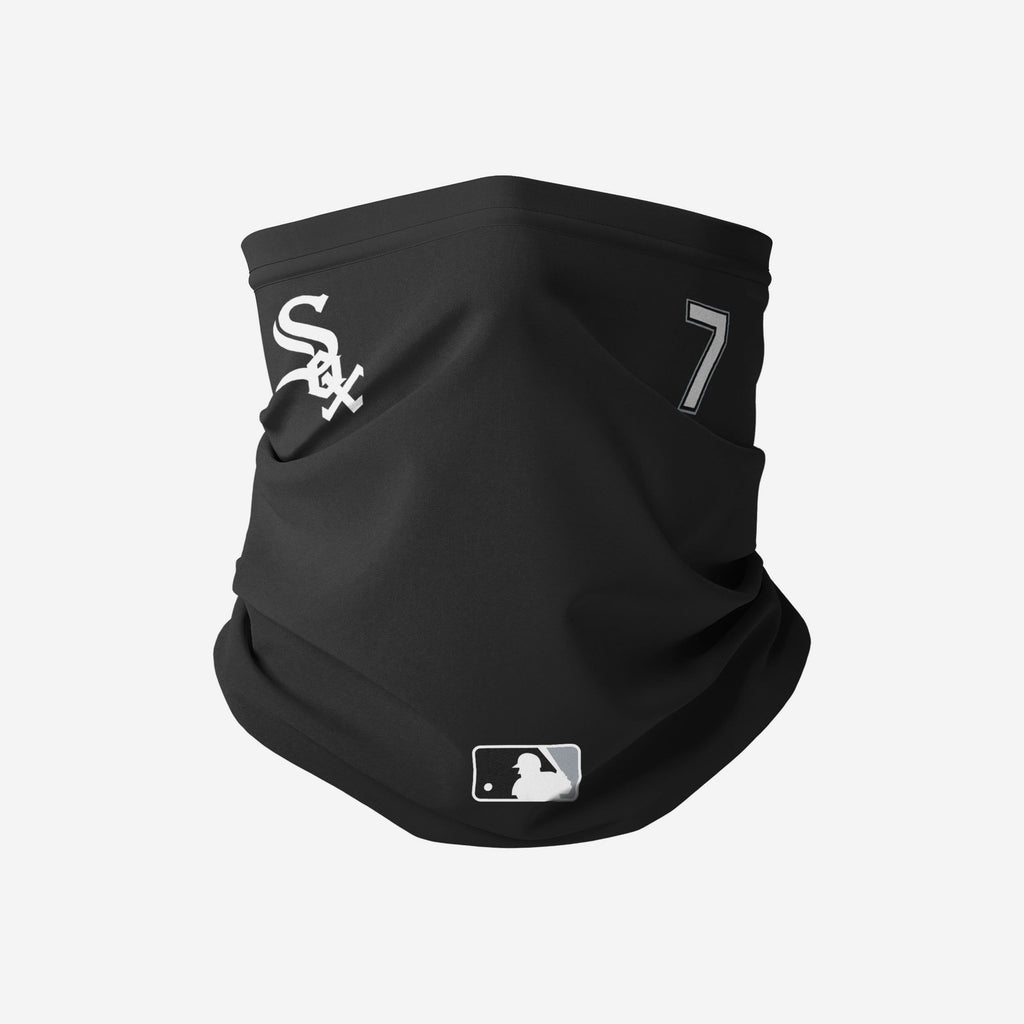 Tim Anderson Chicago White Sox On-Field Gameday Gaiter Scarf FOCO - FOCO.com