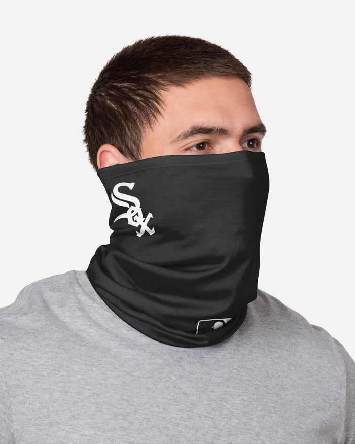 Yoan Moncada Chicago White Sox On-Field Gameday Gaiter Scarf FOCO - FOCO.com