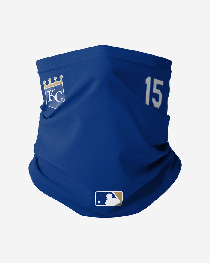 Whit Merrifield Kansas City Royals On-Field Gameday Gaiter Scarf FOCO - FOCO.com