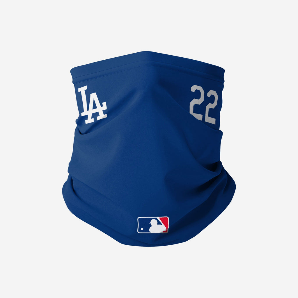 Clayon Kershaw Los Angeles Dodgers On-Field Gameday Gaiter Scarf FOCO - FOCO.com