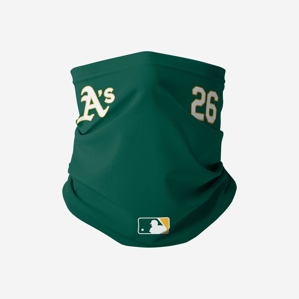 Matt Chapman Oakland Athletics On-Field Gameday Gaiter Scarf FOCO - FOCO.com
