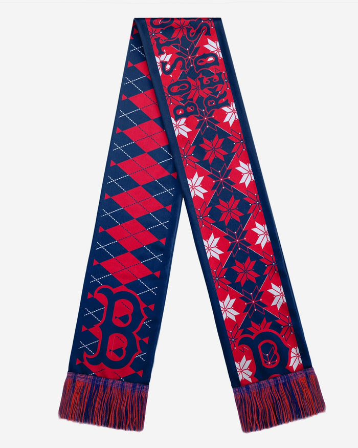 Boston Red Sox Reversible Ugly Scarf FOCO - FOCO.com