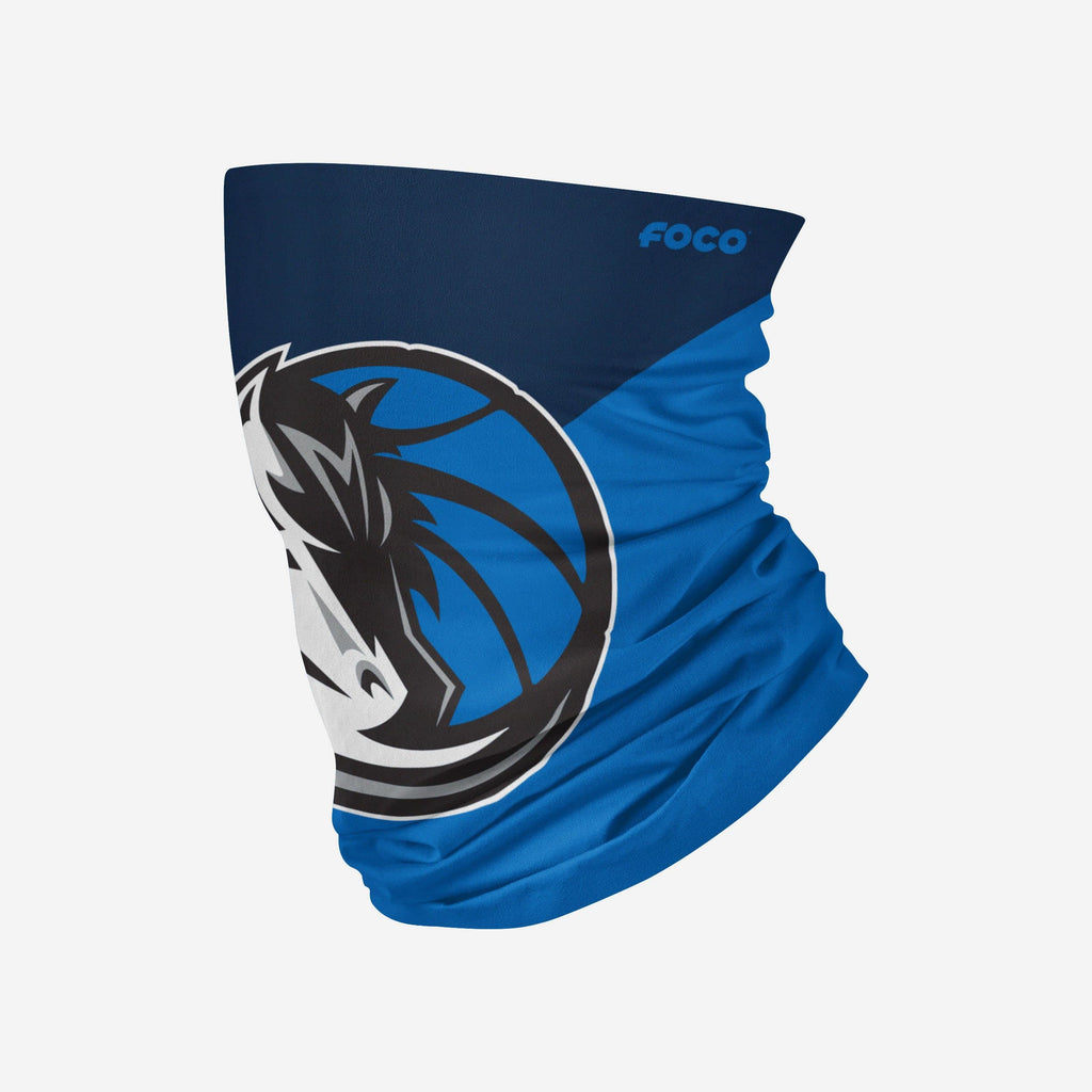 Dallas Mavericks Big Logo Gaiter Scarf FOCO Adult - FOCO.com