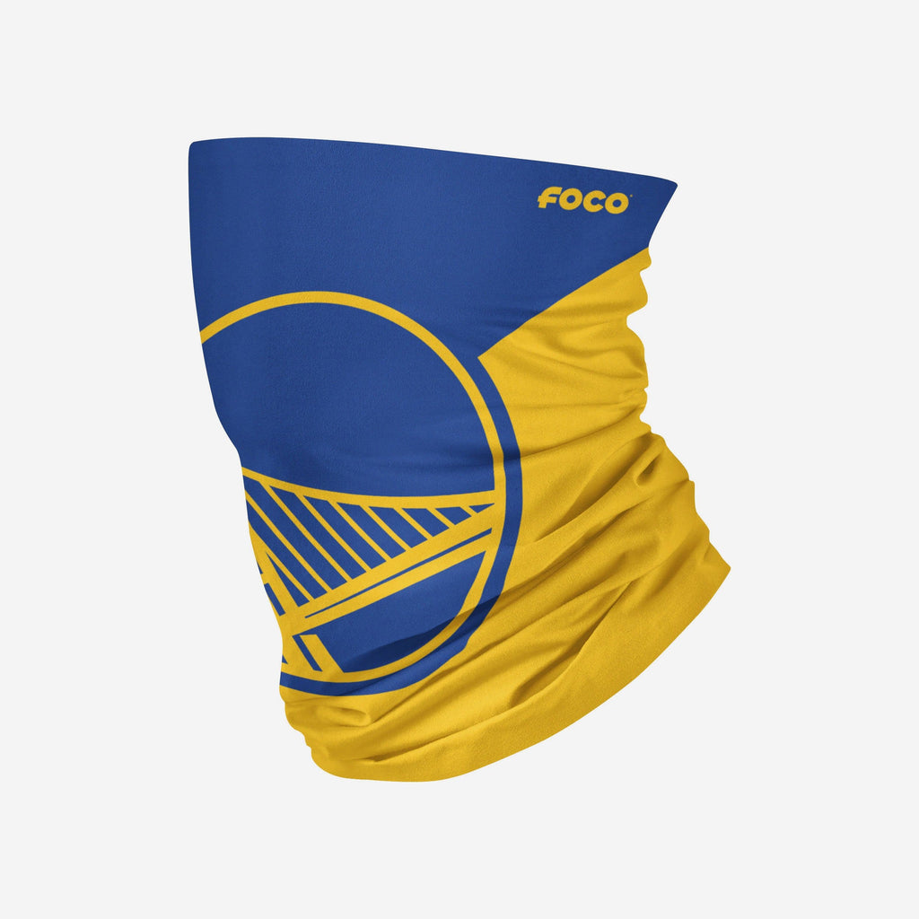 Golden State Warriors Big Logo Gaiter Scarf FOCO Adult - FOCO.com