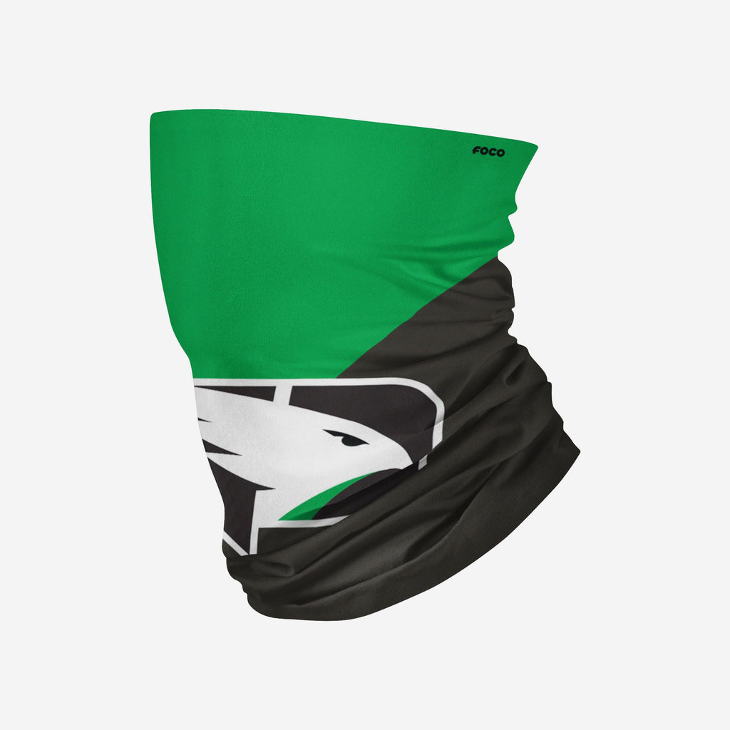 North Dakota Fighting Hawks Big Logo Gaiter Scarf FOCO - FOCO.com
