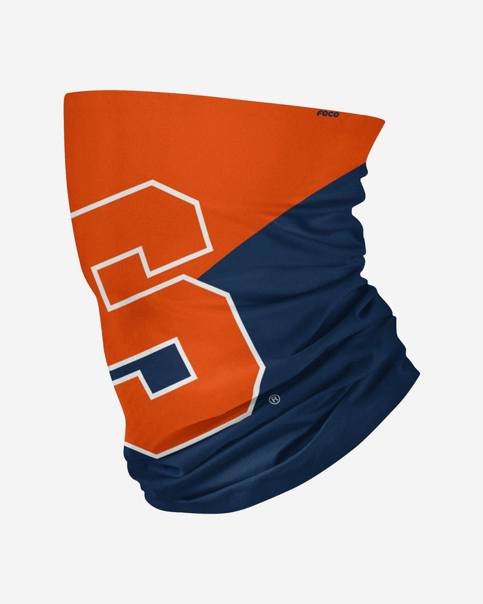 Syracuse Orange Big Logo Gaiter Scarf FOCO - FOCO.com